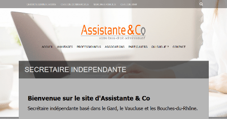 site internet assistante & co