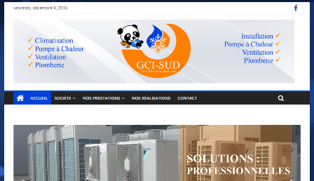 site internet gci-sud