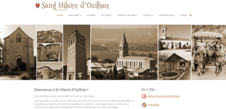 mairie saint hilaire d'ozilhan